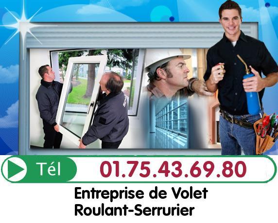 Installation Rideau Metallique Bruyeres le Chatel 91680