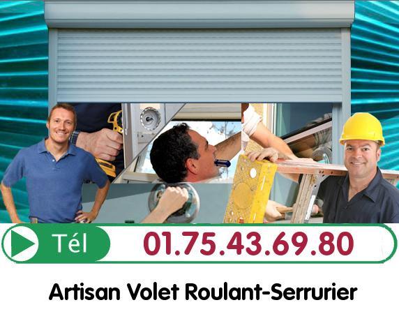 Installation Rideau Metallique Courson Monteloup 91680