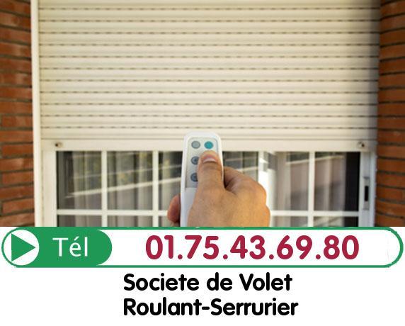 Installation Rideau Metallique Soisy sur ecole 91840