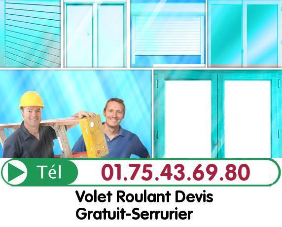 Installation Rideau Metallique Vert le Petit 91710
