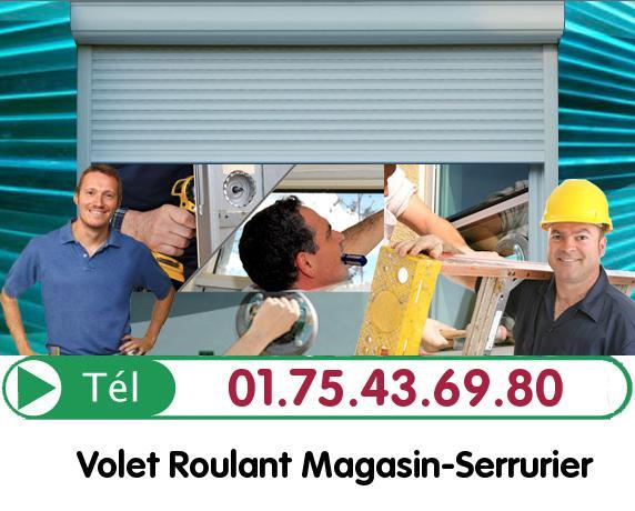 Installation Rideau Metallique Villeneuve sur Auvers 91580